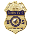 Federal agent badge